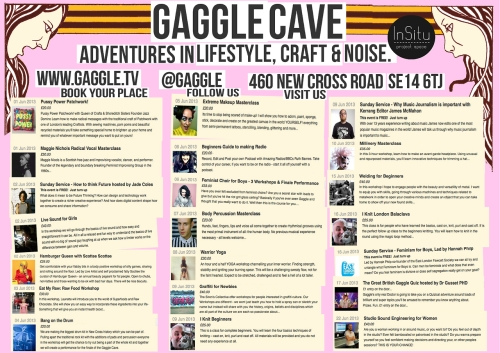 Gaggle Cave LARGE